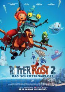Filmpreview + Verlosung zum Kinostart von Ritter Rost 2 das Schrottkomplott