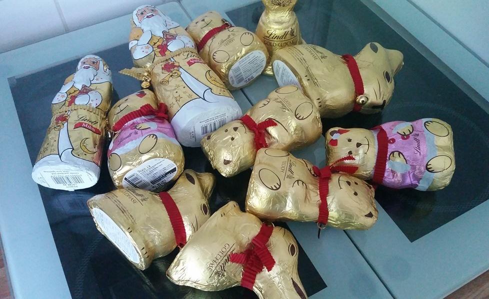 Schokoladenreste von Weihnachten und Ostern lassen sich einfach zu Schoko Crossies verarbeiten