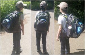 Mit dem satch Schulrucksack geht es in die 5. Klasse