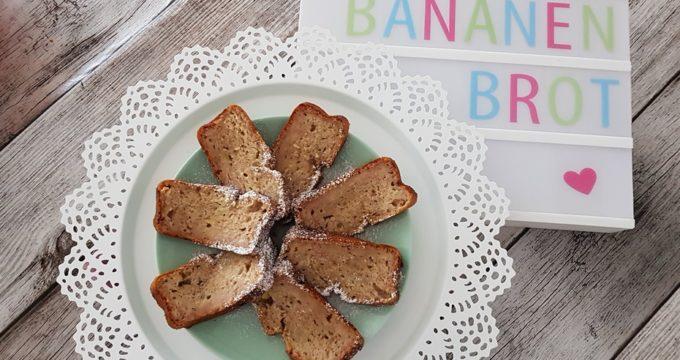 Mein Rezept für veganes Bananenbrot