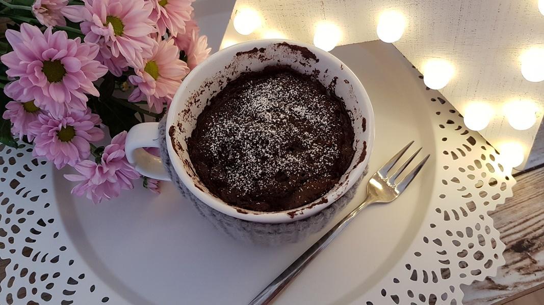Low Carb Schokoladen Tassenkuchen