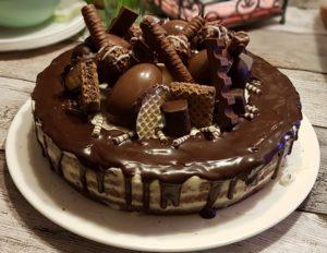 Candyland Dripcake Schokoladen Geburtstagstorte