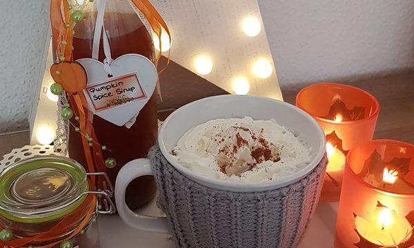 Pumpkin Spice Sirup für Zuhause