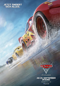 Kinopreview + Verlosung zu Cars 3 – Evolution