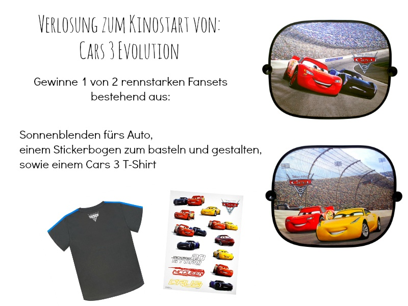 Cars 3 Evolution Fanset Verlosung