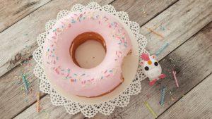 Homer Simpson Donut Torte