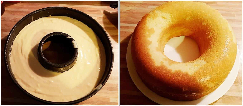 Donut Kuchen backen - Frankfurter Kranz Rührkuchen