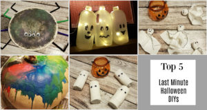 Unsere Top 5 Last Minute Halloween DIYs