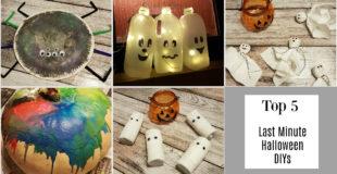 Unsere Top 5 Last Minute Halloween DIYs