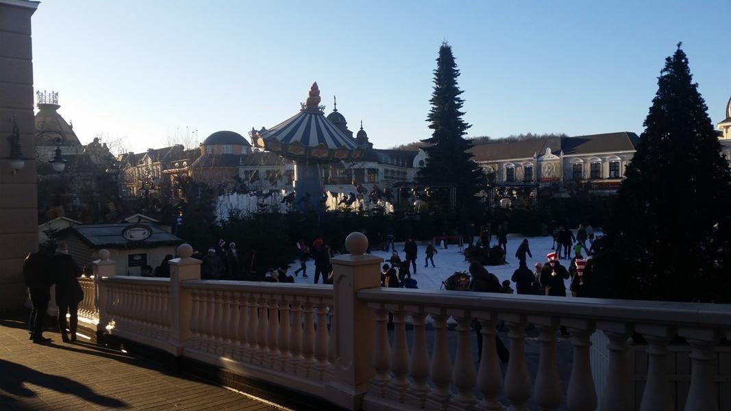 Phantasialand Wintertraum bei Tag