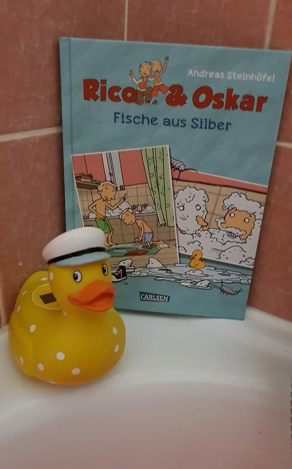 Rico & Oskar - Fische aus Silber Comic Buch aus dem Carlsen Verlag