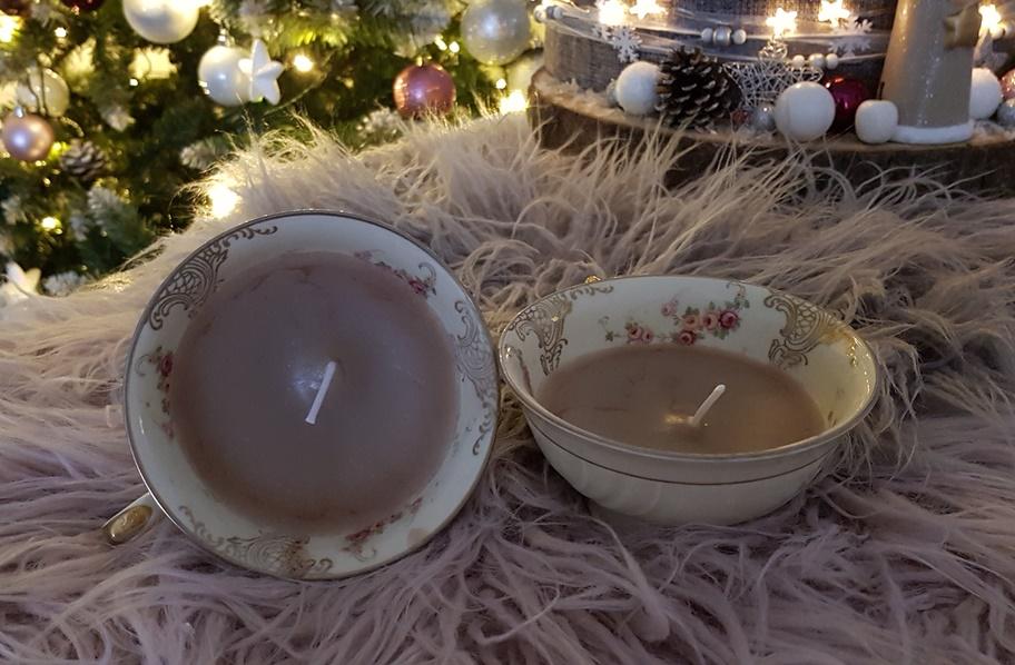 Teetassen Kerzen ganz einfach selbstmachen