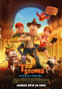 Filmplakat Tad Stones und das Geheimnis von König Midas