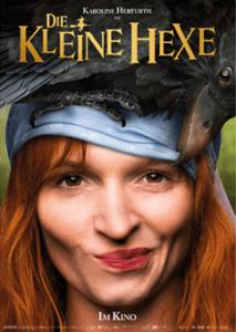 Die kleine Hexe der Kinofilm mit Karoline Herfurth von Studiocanal original Kinoplakat