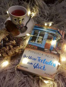 der kleine Teeladen zum Glück von Manuela Inusa erschienen im Blanvalet Verlag