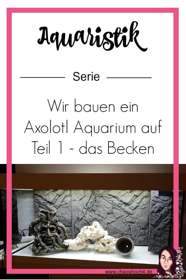 Aquaristik Serie Teil 1 - das Becke - ein Juwel Rio 180 LED fuer Axolotl