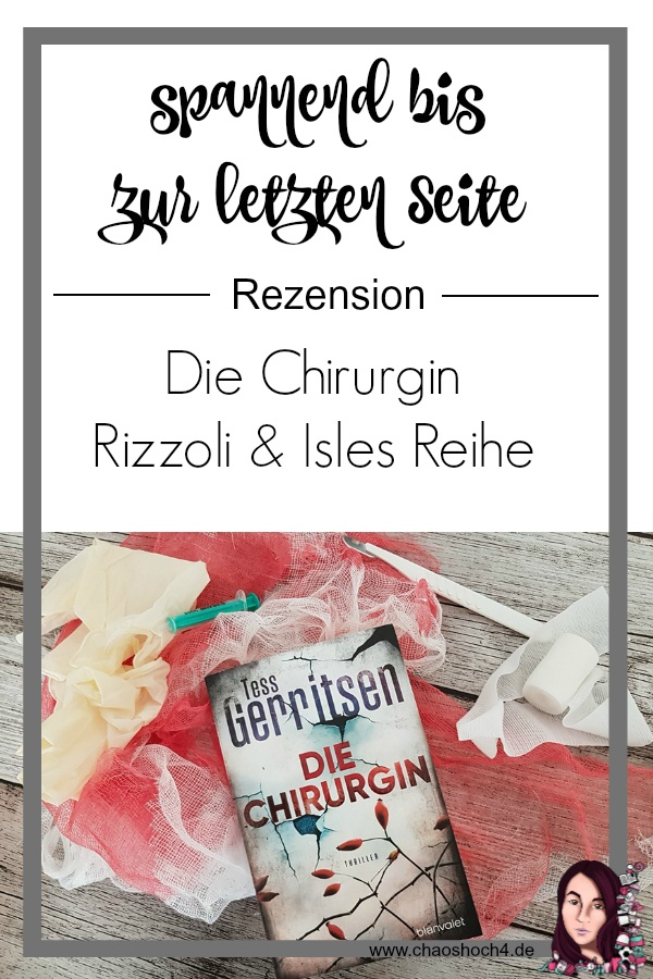 Die Chirurgin von Tess Gerritsen - Rizzoli & Isles 1