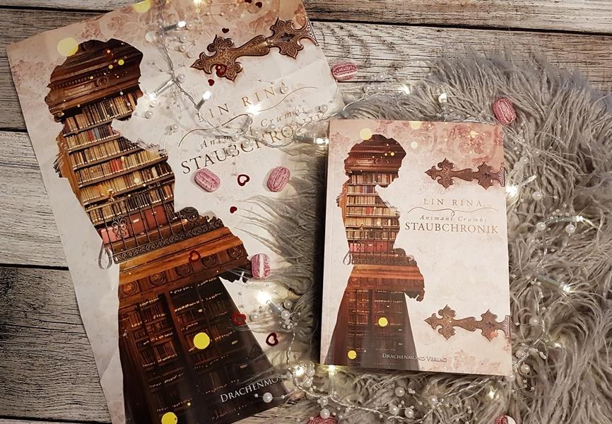 Animant Crumbs Staubchronik von Lin Rina aus dem Drachenmond Verlag