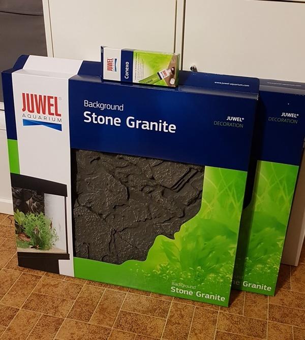 Juwel 3D Rueckwand Granitoptik fuer Juwel Rio 180 LED