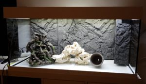 Juwel Rio 180 LED Aquarium inklusive 3D Rueckwand in Schiefer