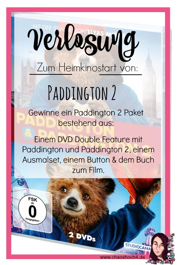 Verlosung zum Heimkinostart von Paddington 2