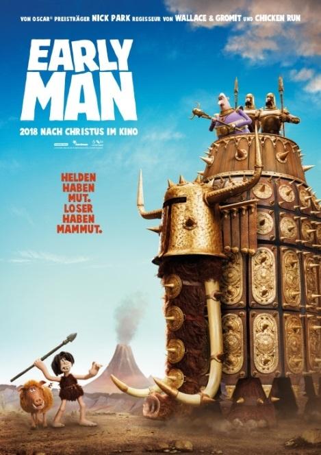 Early Man - Steinzeit bereit offizielles Kinoplakat