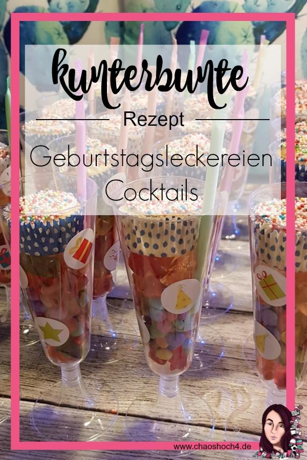 kunterbunte Geburtstagsleckereien Cocktails fuer den Kindergeburtstag