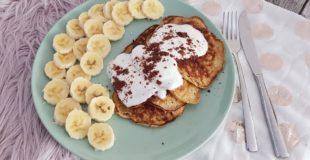 Bananen Pfannkuchen – ein süßes Frühstück für die ganze Familie ohne zusätzlichen Zucker