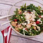 Rezept mediterraner Tortellini Salat