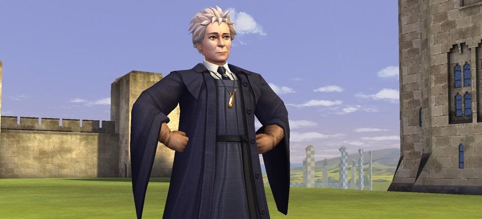 Madam Houch aus Harry Potter Hogwarts Mystery