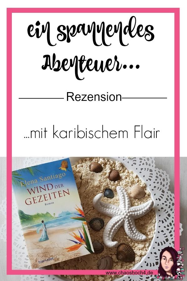 Wind der Gezeiten von Elena Santiago (Eva Völler) aus dem Blanvalet Verlag