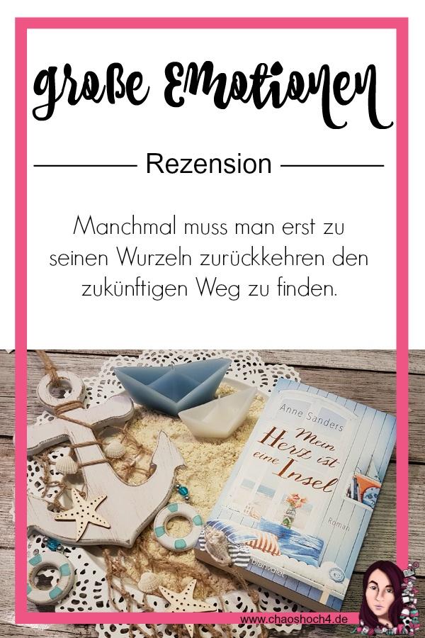 Chaoshoch4 Pinterest Pin zu Mein Herz ist eine Insel von Anne Sanders aus dem Blanvalet Verlag