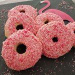 Pinke Flamingo Donuts aus dem Backofen