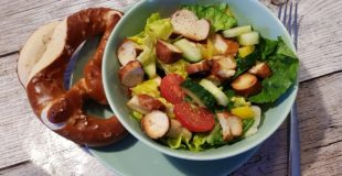 Brezelsalat – Abendbrot für heiße Sommertage