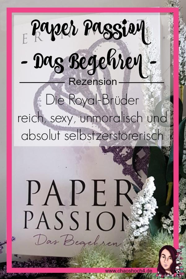 Paper Passion - das Begehren von Erin Watt  - Teil 4 der Paper Reihe aus dem Piper Verlag