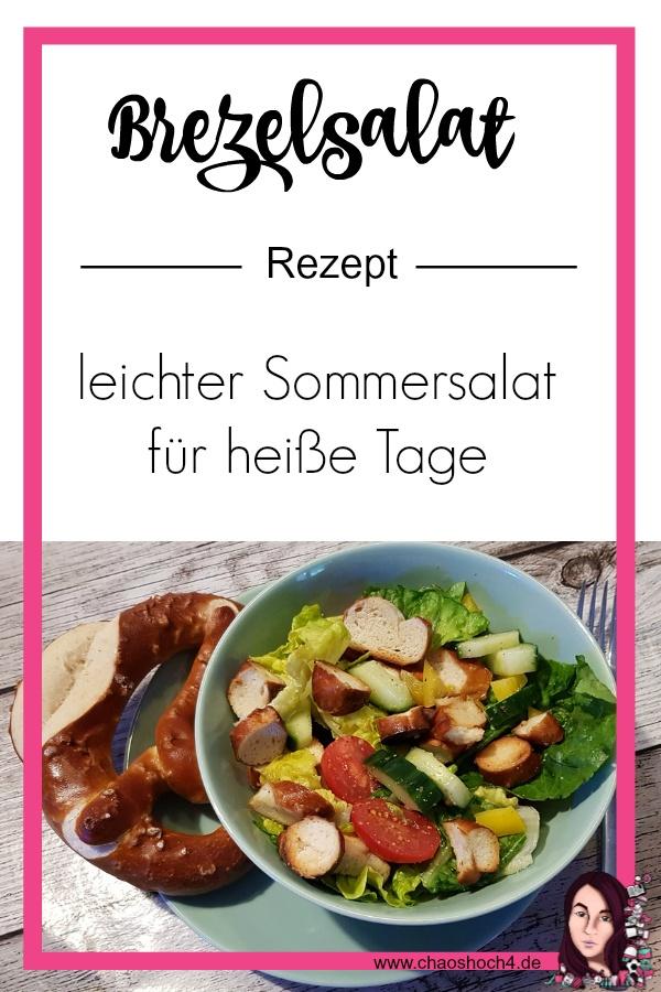 Rezept Brezelsalat perfekt fuer heisse Sommertage oder zum Grillen