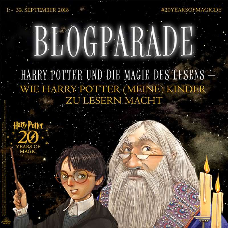 Blogparade #20YearsofMagicde vom Carlsen Verlag