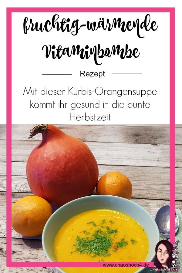 perfekte Vitaminbombe fuer den Herbst die Kuerbis - Orangensuppe