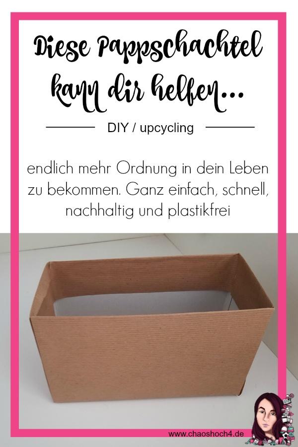 DIY Schubladen Organisation aus Cornflakesschachteln