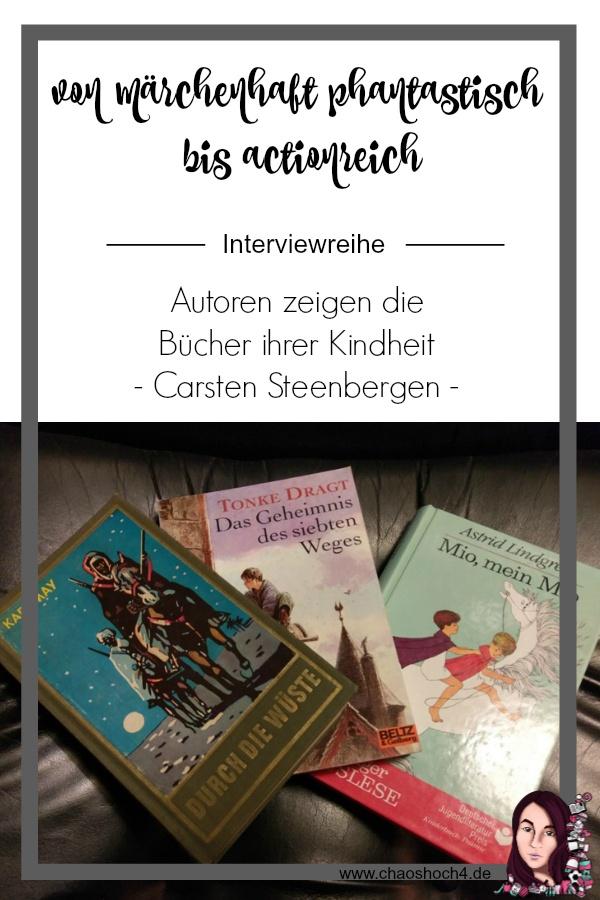 Fabienne Siegmund Autoreninterview mit Carsten Steenbergen zu seinen liebsten Kinderbüchern