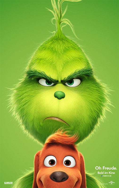der Grinch offizielles Kinoplakat