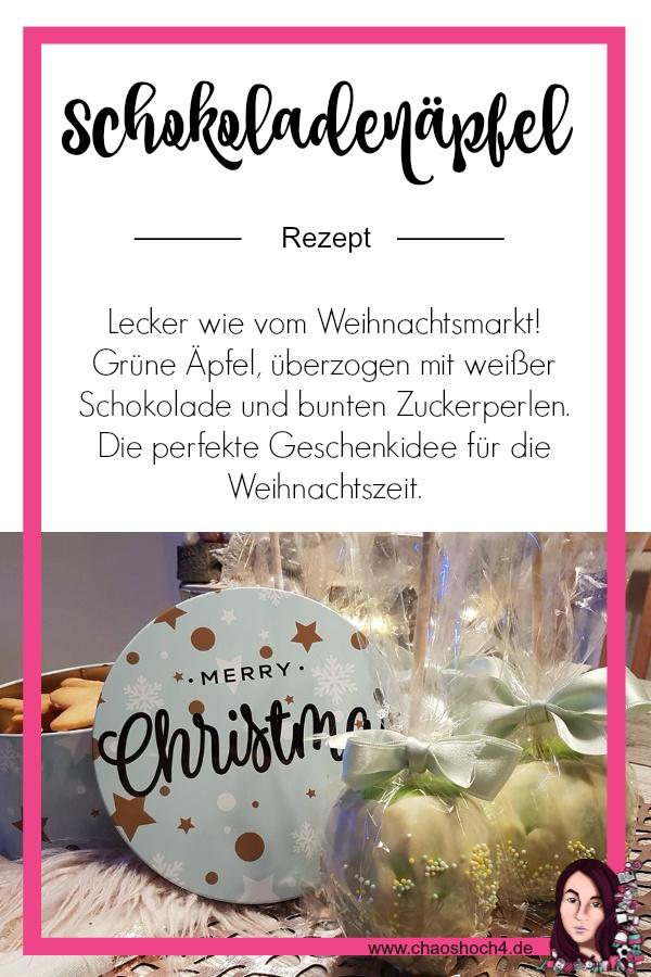 Schokoladenapfel wie vom Weihnachtsmarkt Rezept von Chaoshoch4