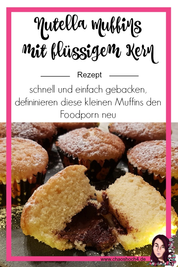 Nutella Muffins Rezept von Chaoshoch4