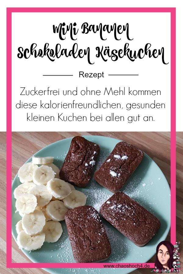 Mini Bananen Schokoladen Käsekuchen Rezept von Chaoshoch4