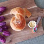 verdrehte Osterhasen ein Hefeteigrezept für Hefeteilchen zum Osterfruehstueck - Ein Rezept von Chaoshoch4