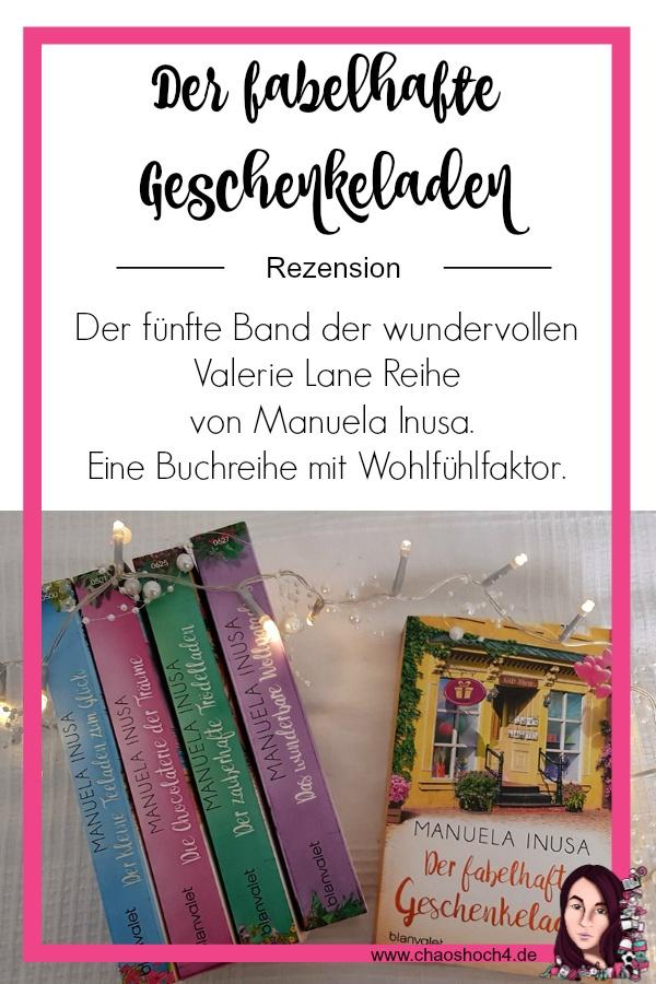 Der fabelhafte Geschenkeladen von Manuela Inusa aus dem Blanvalet Verlag eine Buchvorstellung von Chaoshoch4