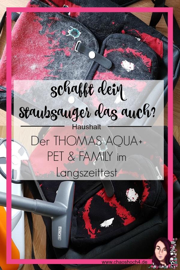 Der THOMAS AQUA+ PET & FAMILY - Vorher / Nachher Bilder - Tierhaarsauger im Langzeittest