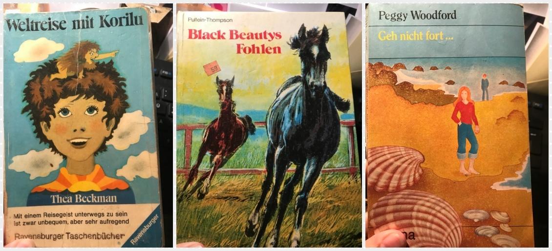 Autorin Anja Bagus zeigt uns die liebsten Kinderbücher ihrer Kindheit