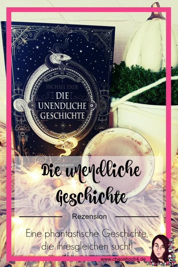 Rezension zu Die unendliche Geschichte von Michael Ende aus dem Thienemann Verlag in einer Jubilaeumsausgabe