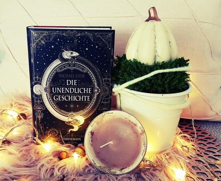 Die unendliche Geschichte in einer Jubilaeumsausgabe von Michael Ende - erschienen im Thienemann Verlag - Rezension